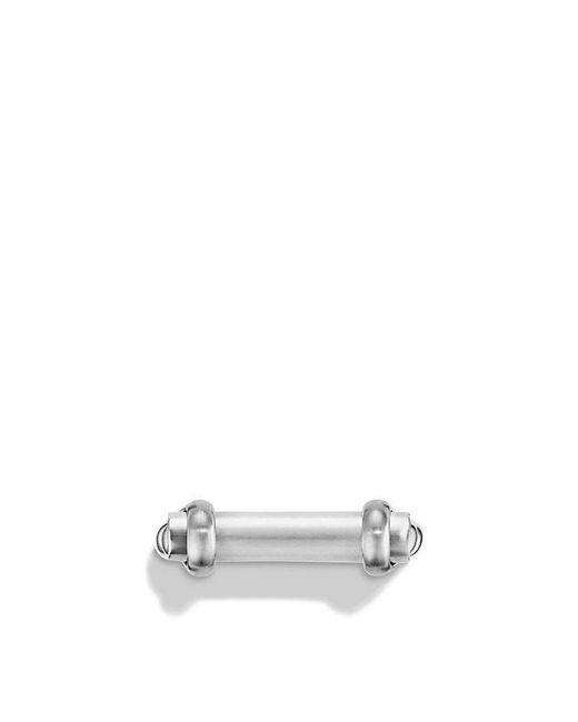 David Yurman | Metallic Maritime Shackle Ring | Lyst
