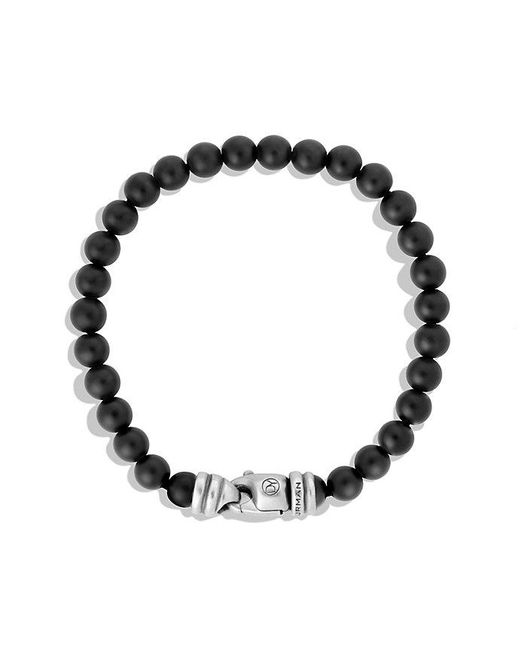 David Yurman | Spiritual Beads Bracelet With Black Onyx, 6mm for Men | Lyst