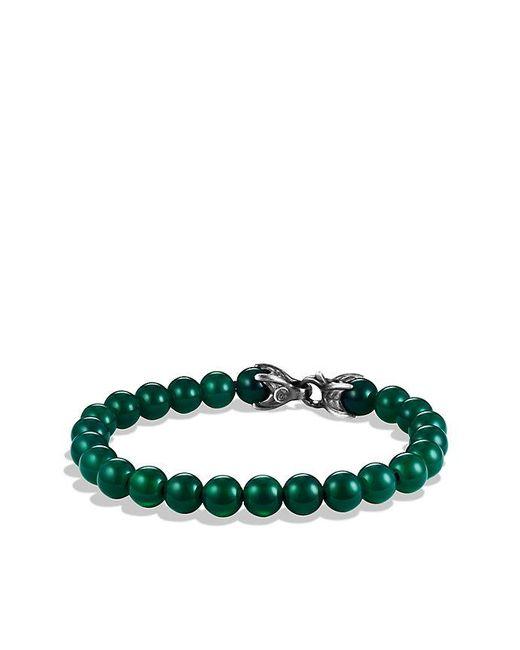 David Yurman | Spiritual Beads Bracelet With Green Onyx, 8mm for Men | Lyst