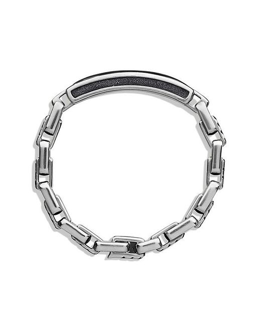 David Yurman | Modern Cable Id Bracelet With Black Onyx for Men | Lyst