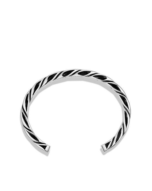 David Yurman | Metallic Chevron Cuff for Men | Lyst