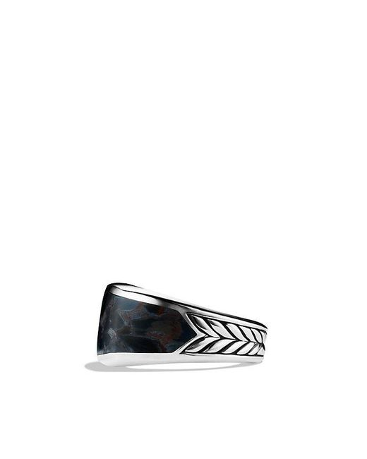 David Yurman | Metallic Exotic Stone Narrow Three-sided Ring With Pietersite for Men | Lyst