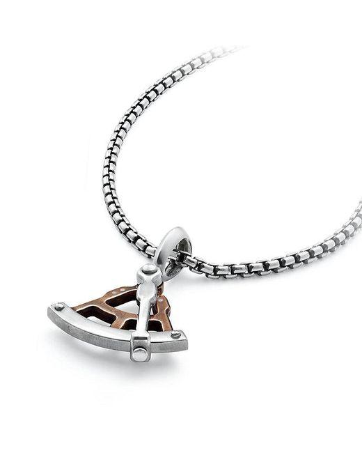 David Yurman | Metallic Maritime® Sextant Amulet With Bronze | Lyst