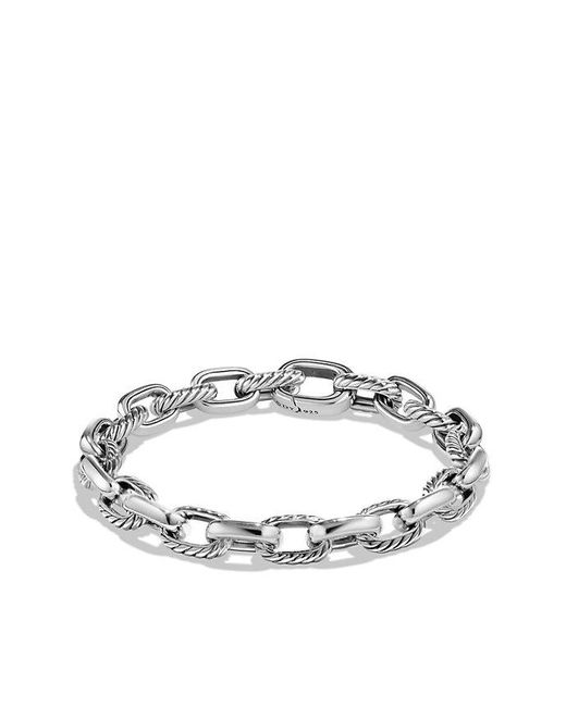 David Yurman | Metallic Cable Classic Oval Link Bracelet, 9mm | Lyst