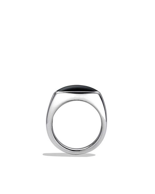 David Yurman | Exotic Stone Signet Ring With Black Onyx for Men | Lyst