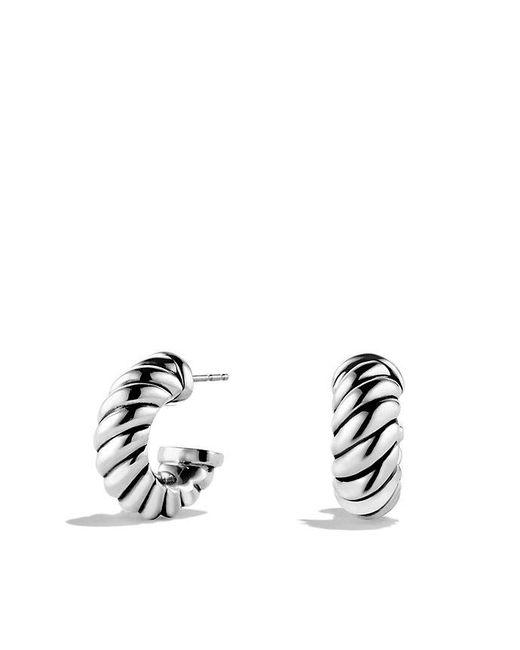 David Yurman | Metallic Cable Classics Earrings | Lyst