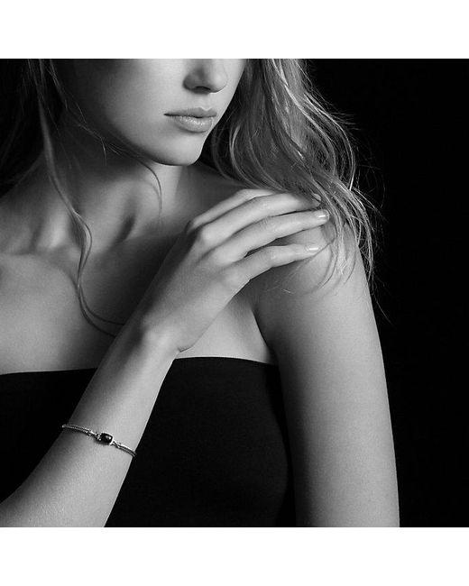 David Yurman - Metallic Petite Wheaton Bracelet With Hampton Blue Topaz And Diamonds - Lyst