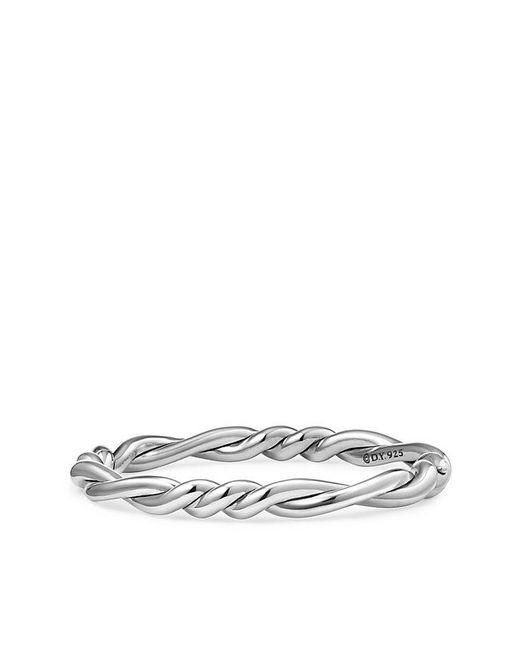 David Yurman   Metallic Continuance Center Twist Bracelet   Lyst