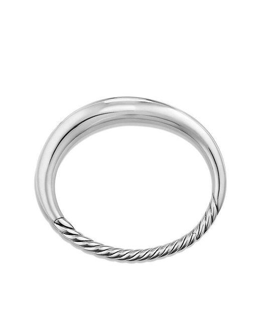 David Yurman - Metallic Pure Form Smooth Bracelet - Lyst