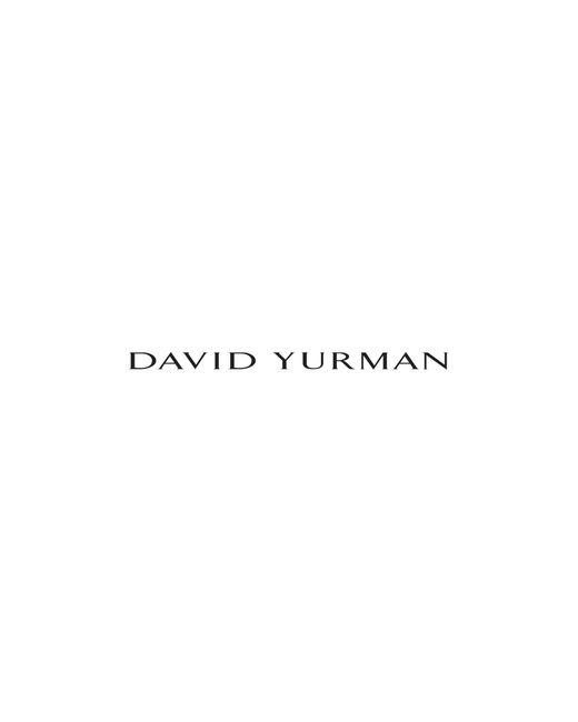 David Yurman - Metallic Continuance Hoop Earrings In 18k Gold - Lyst