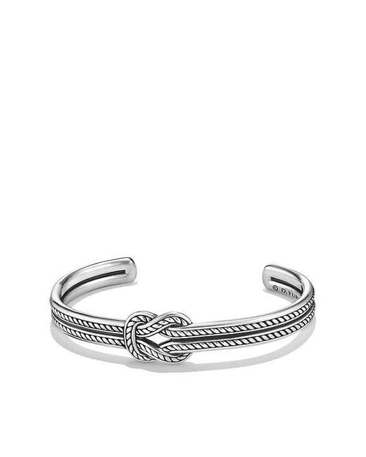 David Yurman | Metallic Maritime Reef Knot Cuff Bracelet | Lyst