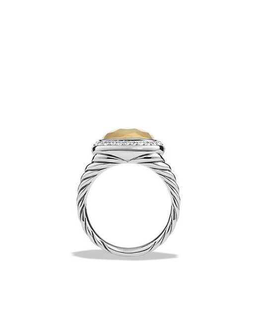 David Yurman | Metallic Albion Ring With Diamonds And 18k Gold | Lyst