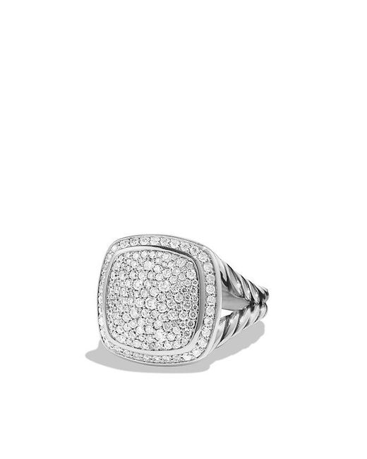 David Yurman | Gray Albion Ring With Diamonds | Lyst