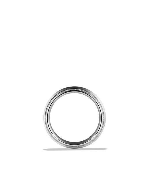 David Yurman | Metallic Knife Edge Band Ring In Platinum, 8mm for Men | Lyst