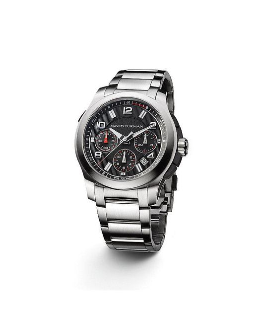 David Yurman | Metallic Revolution 43.5mm Chronograph Watch for Men | Lyst