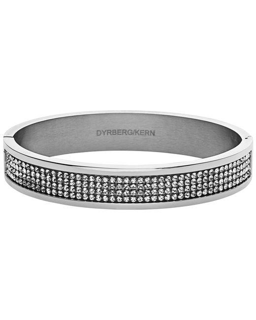 Dyrberg/Kern   Metallic Dyrberg/kern Heli Silver Swarovski Bangle   Lyst