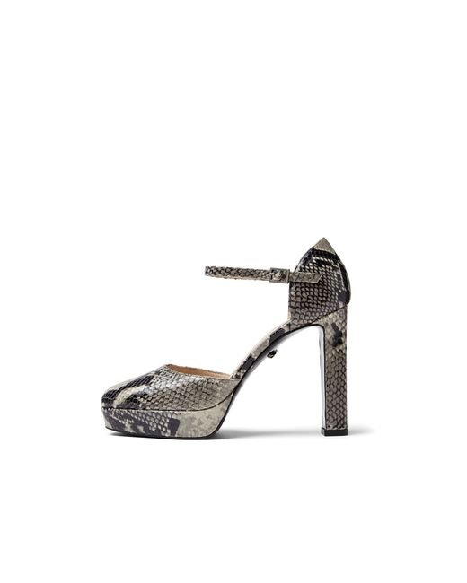 Diane von Furstenberg | Multicolor Mika Python Mary Jane Pumps | Lyst