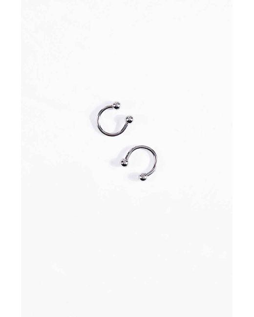 Urban Outfitters | Metallic Openball Hoop Earrings | Lyst