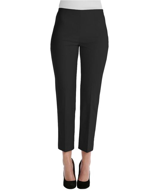 NIC+ZOE | Black Fitted Cigarette Pants | Lyst