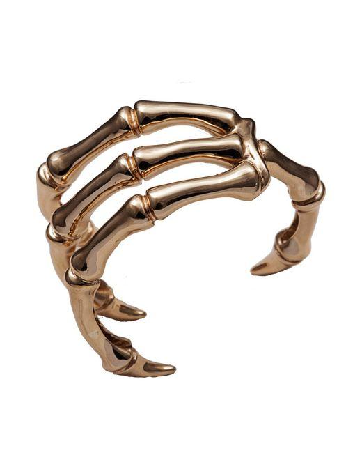 Bernard Delettrez | Metallic Claw Bronze Cuff | Lyst