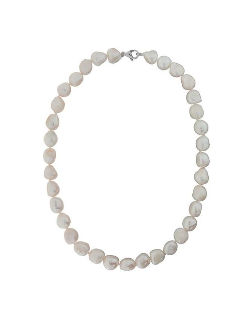 Azendi | White Freshwater Pearl Necklace | Lyst