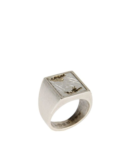 Maison Margiela | Metallic Ring for Men | Lyst