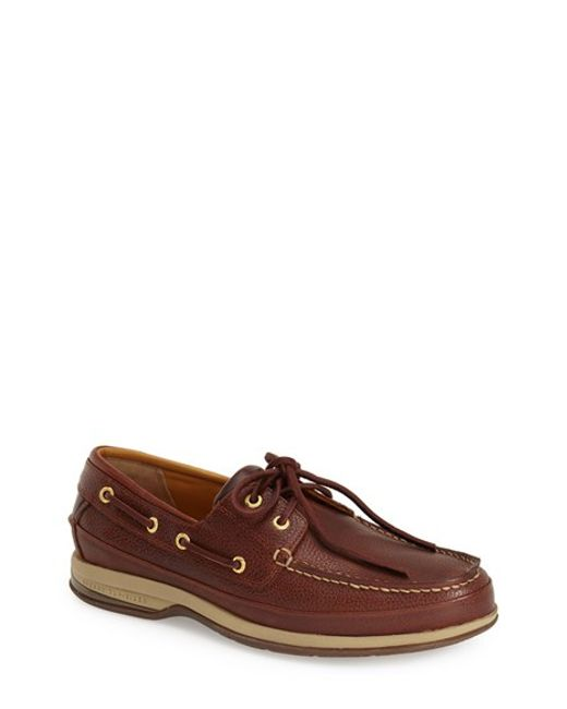 Sperry Top-Sider | Brown 'gold Cup 2-eye Asv' Boat Shoe for Men | Lyst