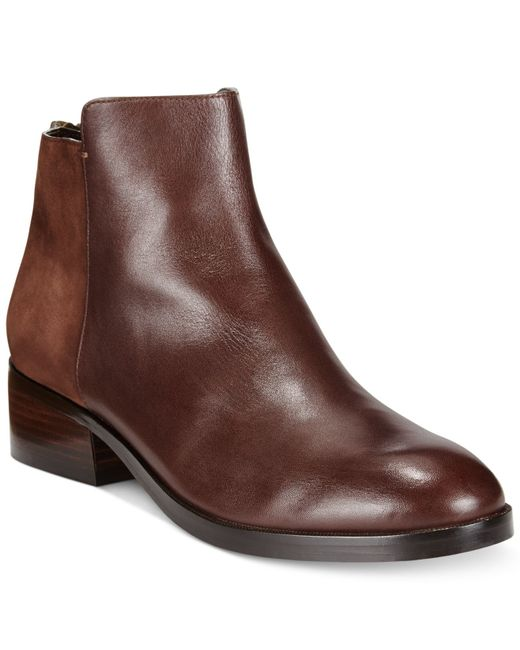Cole Haan | Brown Elion Ankle Booties | Lyst