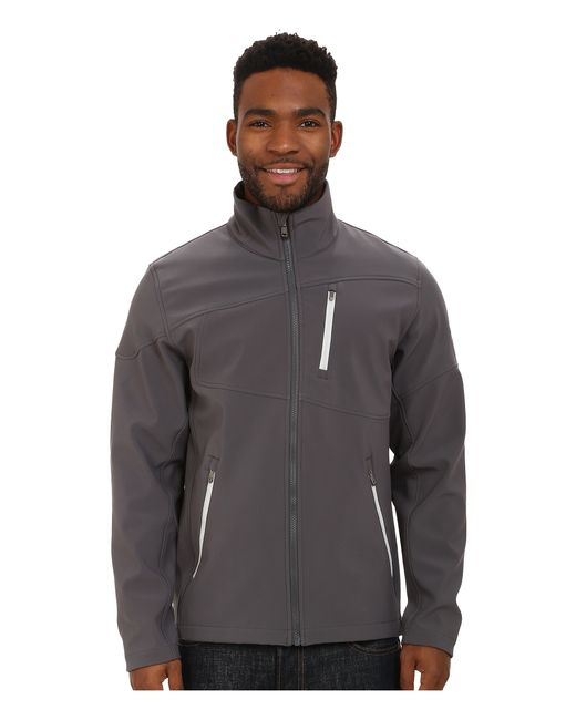 Spyder | Gray Fresh Air Soft Shell Jacket for Men | Lyst