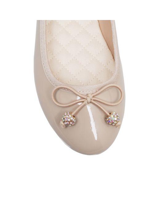 Miss Kg   Natural Millie Flat Slip On Ballerina Pumps   Lyst