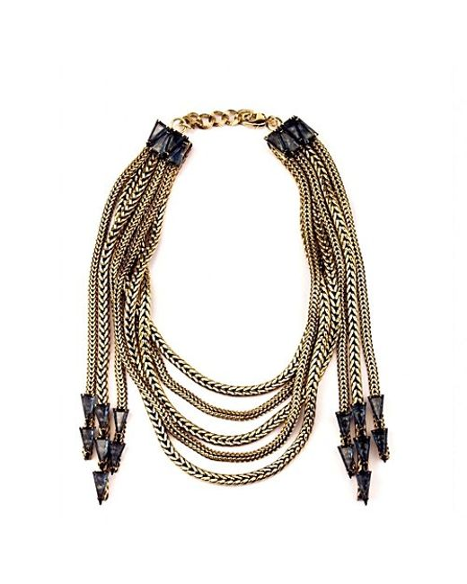 Nicole Romano | Metallic Lucca Necklace | Lyst