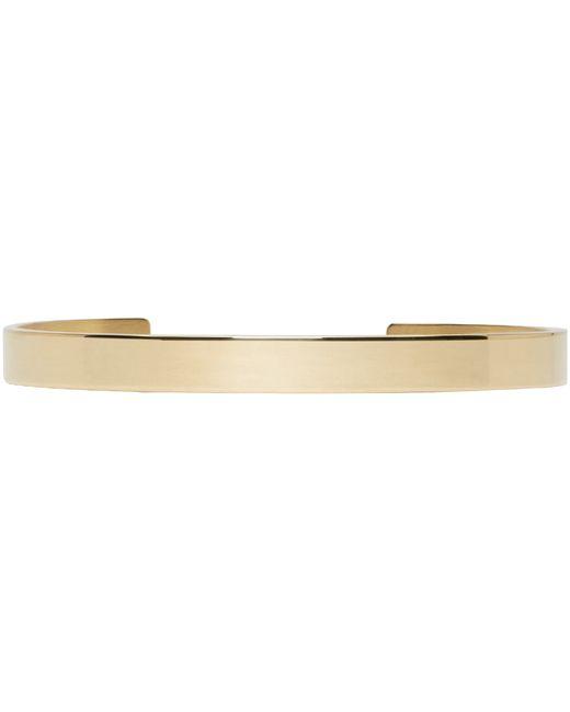 Le Gramme | Metallic Gold Le 21 Grammes Cuff | Lyst