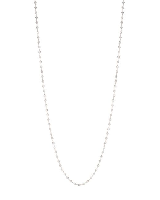 Kenneth Jay Lane | Metallic Continuous Bezel Necklace | Lyst
