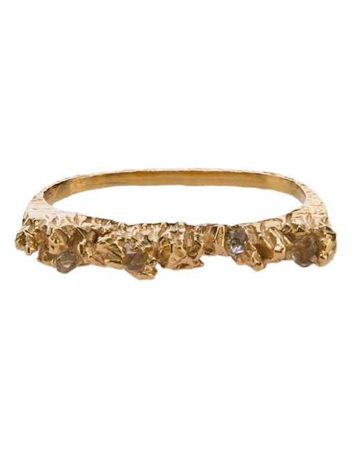 Niza Huang | Metallic 'under Earth' Two Finger Ring | Lyst