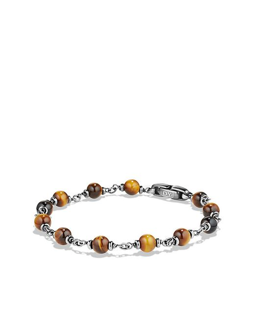 David Yurman | Natural Spiritual Beads Rosary Bracelet In Tiger Eye for Men | Lyst