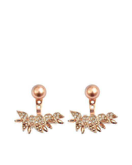 Joanna Laura Constantine   Metallic Earjacket Baroque Earrings   Lyst