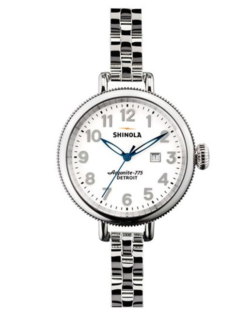 Shinola | Metallic 'the Birdy' Bracelet Watch | Lyst