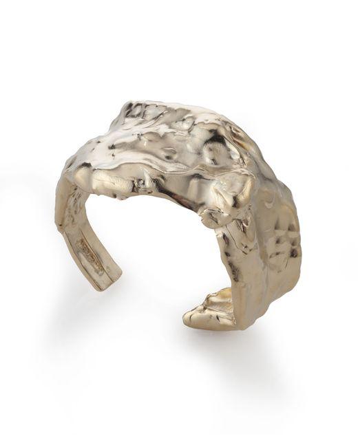 Noritamy | Baru Yellow Gold Cuff Bracelet | Lyst