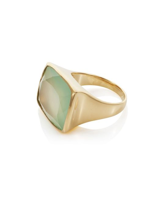 Caroline Creba | Blue 18ct Gold Plated Sterling Silver 15.70ct Aqua Cha | Lyst