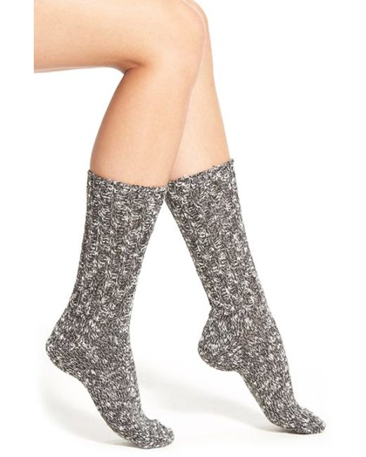 Pink Pony | Natural Marled Boot Socks | Lyst