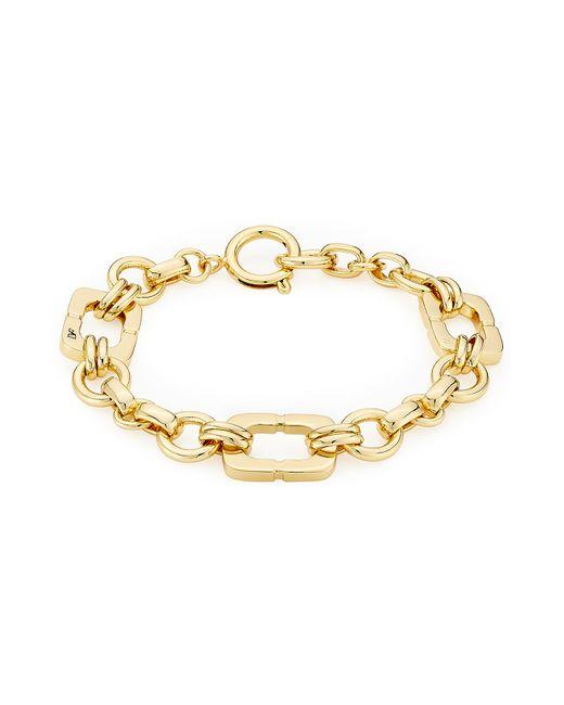 Diane von Furstenberg | Metallic Gold Plated Bracelet - Gold | Lyst