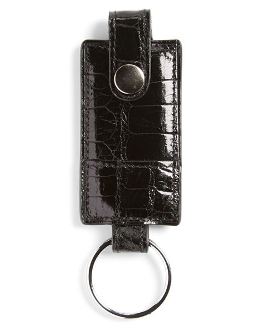Boconi | Black Alligator Key Fob for Men | Lyst