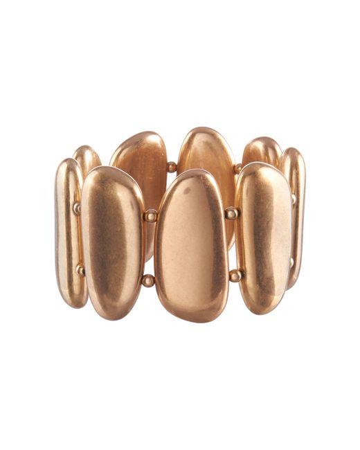 Phase Eight - Metallic Gold Clemance Bracelet - Lyst