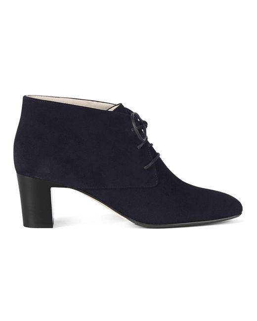 Hobbs - Blue Navy 'patricia' Ankle Boots - Lyst
