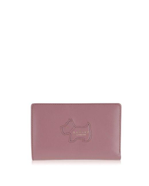 Radley - Medium Pink Leather 'profile Dog' Purse - Lyst