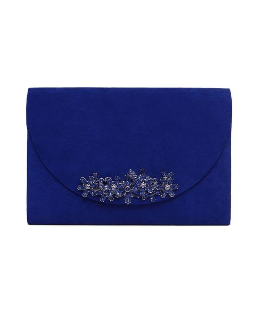 Phase Eight - Blue Eleonor Jewel Trim Clutch Bag - Lyst