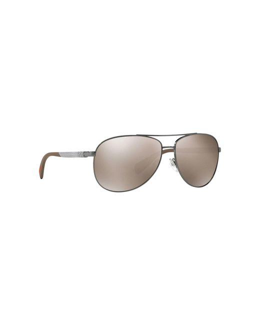 ea63d5c58540 Prada - Gray Grey Ps51os Pilot Sunglasses for Men - Lyst ...