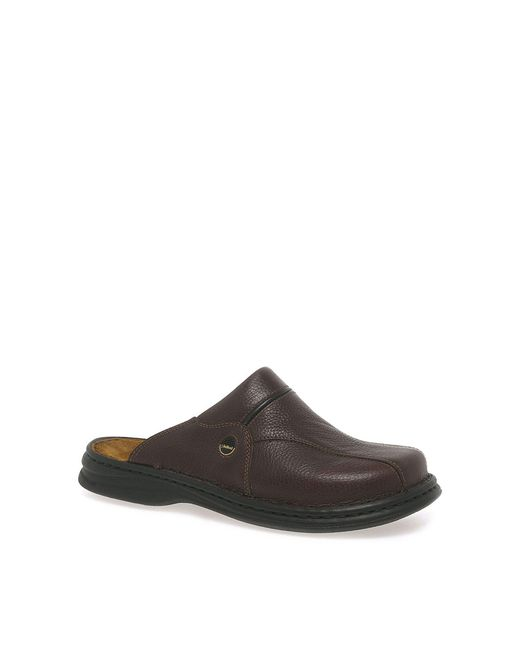 Josef Seibel - Brown Klaus Leather Mules for Men - Lyst