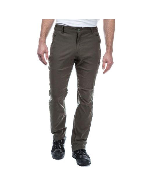 Craghoppers - Green Dark Khaki Kiwi Pro Active Trousers for Men - Lyst