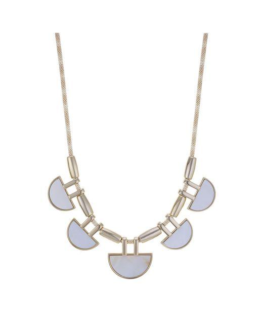 J By Jasper Conran - Multicolor Designer Pearl Multi Shape Necklace - Lyst